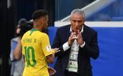 Tite soll auch weiterhin Neymar und die brasilianische Nationalmannschaft betreuen