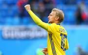 RB-Star Emil Forsberg schoss die Schweden ins Viertelfinale