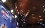 Max Hopp muss beim World Matchplay gegen Michael Smith antreten