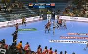 Den deutschen Handballerinnen gelang gegen die Türkei ein Kantersieg