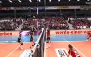 Der Dresdner SC und die Ladies in Black Aachen duellierten sich am 14. Spieltag