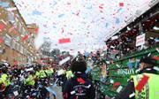 In Boston wurden die Red Sox gebührend gefeiert