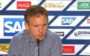 Hoffenheims Trainer Julian Nagelsmann ist unzufrieden mit seiner Mannschaft