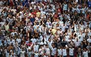 Einige argentinische Fans wurden mit einem Stadionverbot belegt