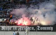Im Stadion in Chemnitz wurde eines verstorbenen Neonazis gedacht