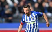 Vedad Ibisevic muss mit der Hertha gegen Braunschweig antreten