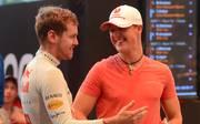 Michael Schumacher (rechts) und Sebastian Vettel gehören ab sofort in die Hall of Fame