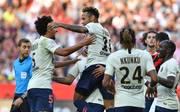 Neymar führte Paris mit einem Doppelpack zum Sieg