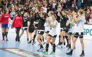 Die Enttäuschung über den knapp verpassten Sieg war den deutschen Handballerinnen anzusehen