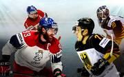 Eishockey-WM Viertelfinale Deutschland - Tschechien