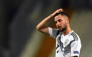 Marco Richter vom FC Augsburg glänzte in den ersten beiden Spielen der U21-EM mit drei Toren