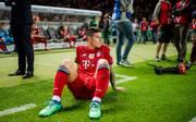 James Rodriguez ist enttäuscht nach Bayerns Pokalniederlage gegen Frankfurt