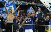 Raúl (M.) spielt zwei Jahre für Schalke 04 und erzielt in 98 Partien 40 Tore