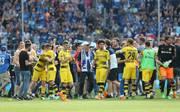 Borussia Dortmund war am Rande der Hoffenheimer Glückseligkeit nicht wirklich zum Feiern zumute