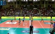 Volleyball-Bundesliga Frauen: Allianz MTV Stuttgart - SC Palmberg Schwerin Nach einem harten Kampf über fünf Sätze setzte sich Stuttgart am Ende knapp durch. damit bleibt der Spitzenreiter der volleyball-Bundesliga weiter ungeschlagen