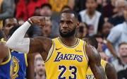 LeBron James trägt in dieser Saison das Trikot der Los Angeles Lakers