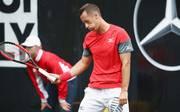 Philipp Kohlschreiber unterlag in Stuttgart dem Usbeken Denis Istomin