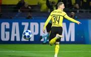 Jacob Bruun Larsen wurde beim BVB zur zweiten Halbzeit eingewechselt
