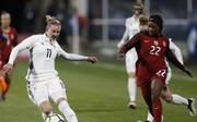 Auch Alexandra Popp (l.) konnte die Niederlage gegen die USA nicht verhindern