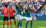 Deutschland schied bei der WM in Russland bereits in der Vorrunde aus