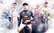 Lando Norris, Max Verstappen, Mick Schumacher und Charles Leclerc sind die jungen Wilden der Formel 1