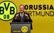 Geschäftsführer Hans-Joachim Watzke besitzt beim BVB einen Vertrag bis 2022