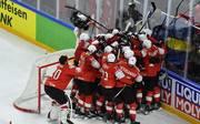 Schweiz feiert den Sieg
