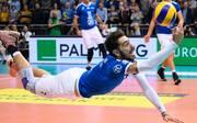Athanasios Protopsaltis hatte mit dem VfB Friedrichshafen ordentlich Mühe