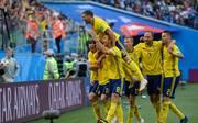 WM 2018: Emil Forsberg schießt die Schweden ins Viertelfinale
