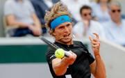 Alexander Zverev steht im Viertelfinale der French Open