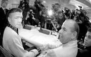Graciano Rocchigiani starb am 1. Oktober bei einem Autounfall in Italien