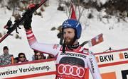 Marco Schwarz gehört zu den letzten Siegern in der Kombination