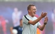 Ralf Rangnick will RB Leipzig in die Gruppenphase der Europa League führen