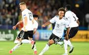 Felix Platte (li) und Thilo Kehrer (re.) gehören zum Kader der U21-Nationalmannschaft