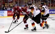 Lettland besiegt Deutschland bei der Eishockey-WM