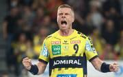Gudjon Valur Sigurdsson steuerte acht Tore zum Sieg der Rhein-Neckar Löwen bei