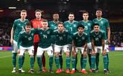 Die deutsche U21-Startelf beim Testspiel im März in England