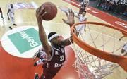Devin Booker machte in der Schlussphase wichtige Punkte für die Bayern-Basketballer