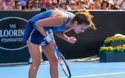 Julia Görges hat das Duell mit Eugenie Bouchard nach fast 2,5 Stunden für sich entschieden