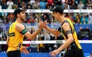 FIVB Beach Volleyball World Championships Hamburg 2019 - Day 10 Julius Thole (r.) und Clemens Wickler haben bei der Beachvolleyball-WM in Hamburg für ein deutsches Silbermärchen gesorgt
