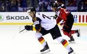 Dei deutsche Eishockey-Nationalmannschaft trifft bei der WM zum Auftakt auf Kanada