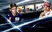 Zwischen Valentino Rossi (l.) und Marc Marquez kommt es häufig zu Auseinandersetzungen