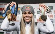 TOPSHOT-ALPINE SKI-WORLD-WOMEN-SWE-DOWNHILL