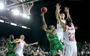 In der Schlussphase drehte Darüssafaka Istanbul (grün) das Spiel noch zu seinen Gunsten