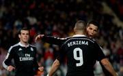 Cristiano Ronaldo Karim Benzema Real Madrid Jubel