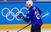 Rok Ticar spielte 2018 mit Slowenien bei den Olympischen Winterspielen in Pyeongchang