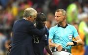 N'Golo Kante wurde in der 55. Minute ausgewechselt
