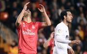 Real Madrid kassierte gegen Valencia die erste Niederlage seit der Rückkehr von Zinedine Zidane