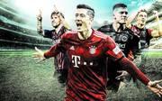 Robert Lewandowski und die Top-Torjäger Europas mit Messi, Jovic, Piatek