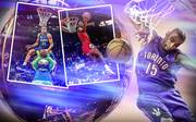 NBA Slam Dunk Contest Michael Jordan Vince Carter Aaron Gordon